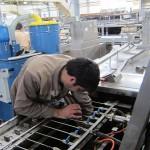 استفاده از جاروبرقی صنعتی برای نظافت تجهیزات تولید