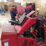 تعمیر دستگاه در تعمیرگاه مرکزی واحد خدمات پس از فروش