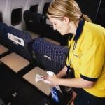 نظافت هواپیما