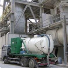 استفاده از مکنده در صنایع سیمان