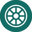 چرخ دستگاه مکنده