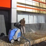شستشوی سنگفرش با کارواش صنعتی