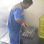 واتر جت صنعتی و کاربرد آن در شستشوی سینی پخت نان