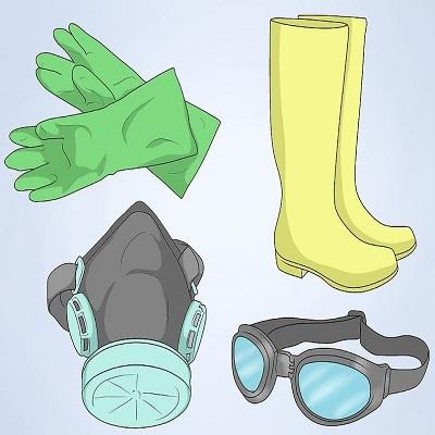 نظافت و لباس ایمنی