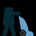 نظافت لابی با پولیشر