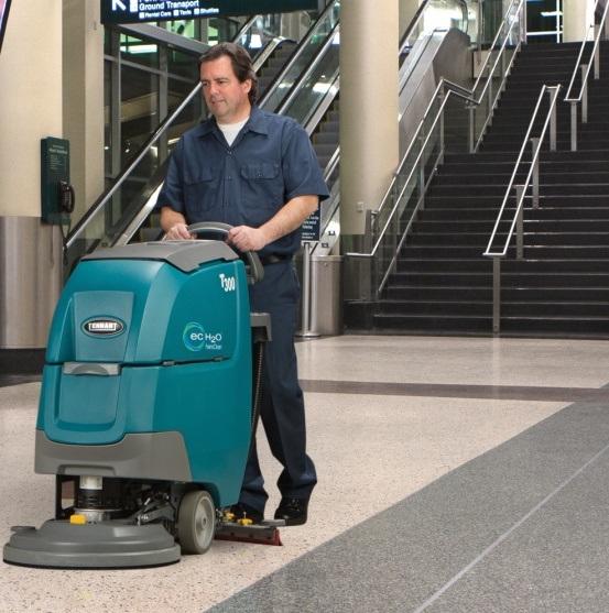 تجهیزات نظافتی - اسکرابر