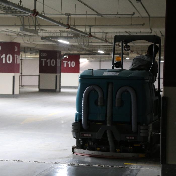 دستورالعمل نظافت پارکینگ