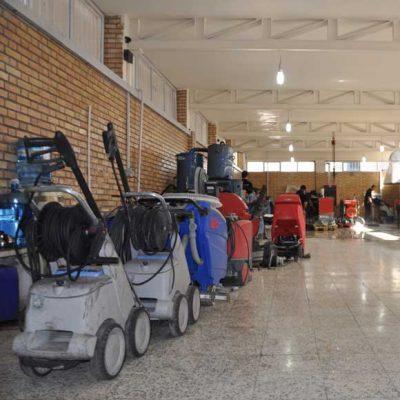 خدمات پس از فروش شرکت ابراهیم تامین کننده تجهیزات نظافتی