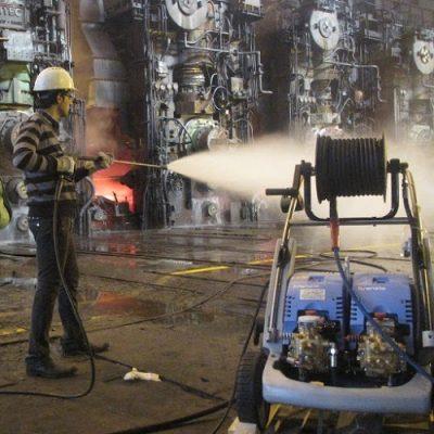 واترجت صنعتی شستشو