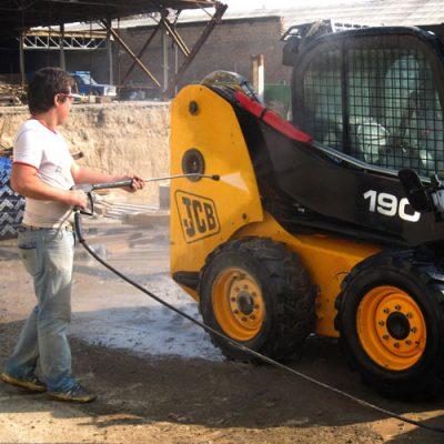 واترجت صنعتی مناسب شستشوی ماشین آلات