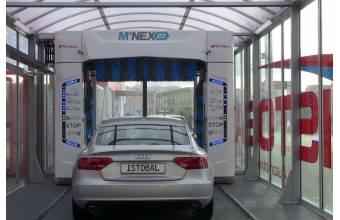 شستشو دقیق و ایمن خودرو با کارواش اتوماتیک دروازه ای
