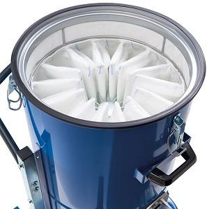 فیلتر جاروبرقی صنعتی برای ذرات گرد و غبار