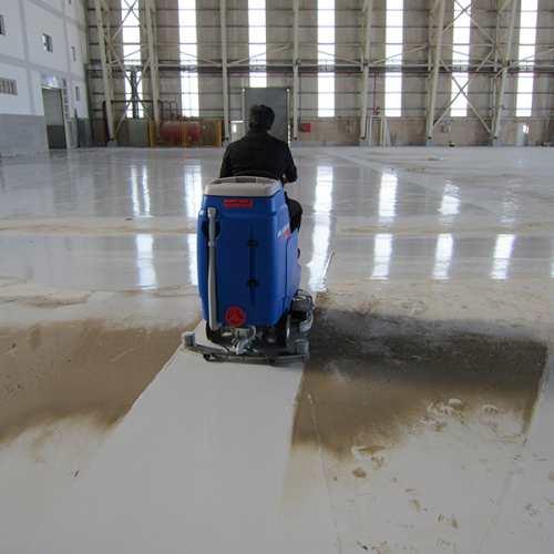 تجهیزات نظافت صنعتی اسکرابر