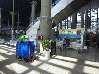 اسکرابر صنعتی فرودگاه - شرکت ابراهیم
