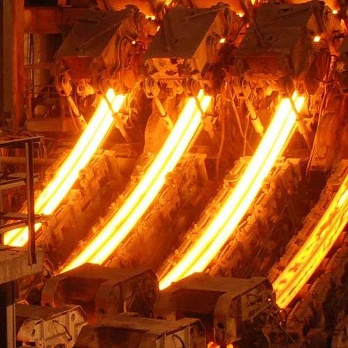 جاروبرقی کارخانه ذوب آهن