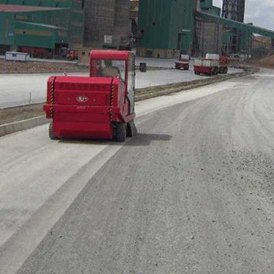 کیفیت بالای نظافت سویپر صنعتی