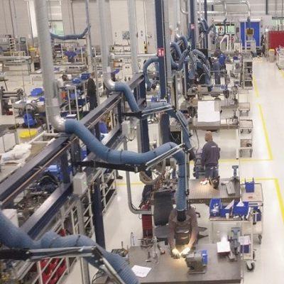 نظافت صنعتی کارخانه و انبار با دستگاه مکانیزه