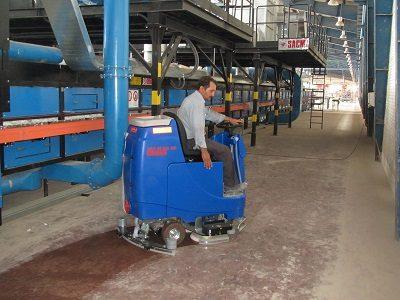 دستگاه نظافت صنعتی مکانیزه