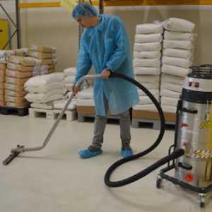 کاربرد جاروبرقی صنعتی در صنایع غذایی