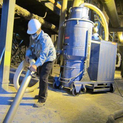 مکانیزم نظافتی جاروبرقی صنعتی