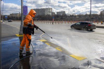 کاربرد واترجت در نظافت شهری