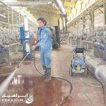 شستشوی تاسیسات و تجهیزات صنعتی