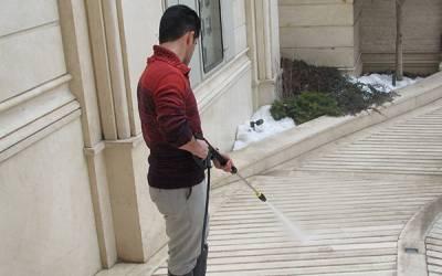 از کدام واترجت برای شستشوی حیاط استفاده کنیم