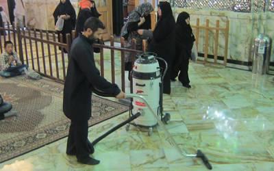 جارویرقی صنعتی برای شستشو و نظافت مساجد