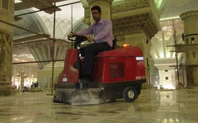 دستگاه نظافتی سوییپر برای نظافت اماکن مذهبی و مساجد