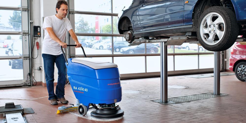 کاربرد دستگاه زمین شوی برقی در شستشوی کف