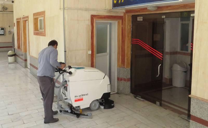 مزایای استفاده از اسکرابر در نظافت بیمارستان