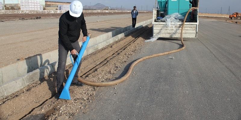 مکنده صنعتی برای ارائه امور نظافت شهری
