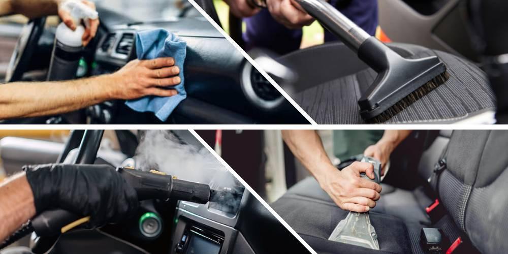 وسایل مورد نیاز کارواش و نظافت داخل خودرو