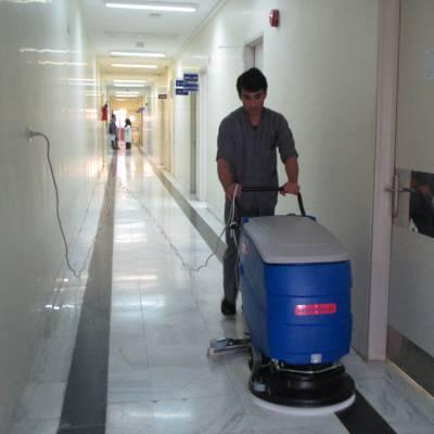 سطح کیفیت و بهداشت در نظافت با اسکرابر