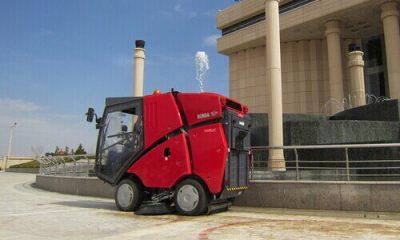 دستگاه های سوییپر سرنشیندار صنعتی برای حداکثر کارایی و کیفیت