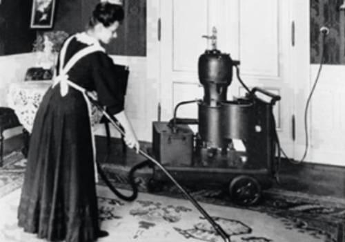 تاریخچه دستگاه نظافتی جاروبرقی صنعتی