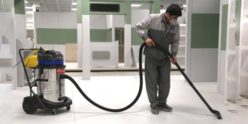عکس کاربرد جاروبرقی آب و خاک صنعتی در محیط های تجاری، خدماتی و درمانی