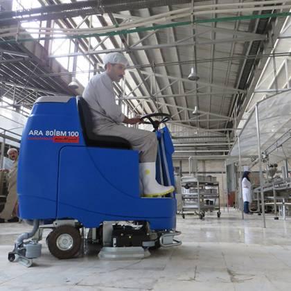 دستگاه اسکرابر-کفشوی صنعتی - ARA80BM100