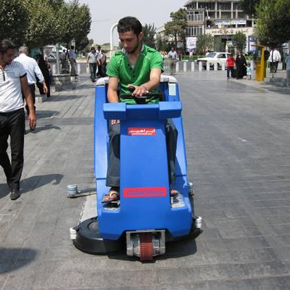 دستگاه اسکرابر-کفشور صنعتی - AR100BM150