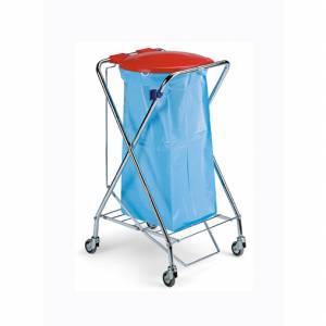 ترولی جمع آوری و حمل زباله - bag holder 8075