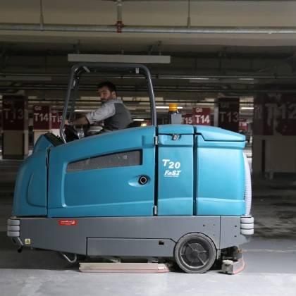 اسکرابر صنعتی سخت کار - کفشوی خودرویی - T20