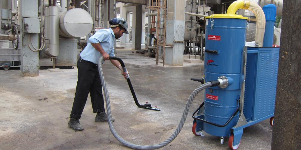 دستگاه مکنده صنعتی مخصوص صنایع سنگین