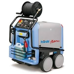 دستگاه واتر جت-کارواش آب گرم